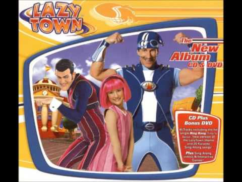 LazyTown  Snow, Give Me Snow