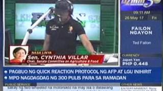 DZMM Teleradyo Failon Ngayon 9am May 26, 2017