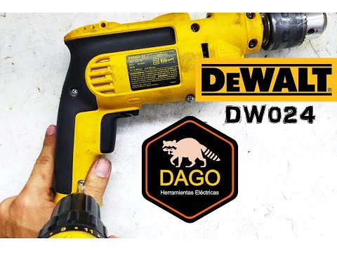 Cambiar Mandril Taladro / Change Chuck Drill DEWALT DW 024 - B3 Type 1