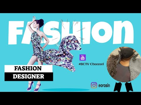 FASHION DESIGNER + CLOTHING LINE + CHILL BACKGROUND SOUNDS