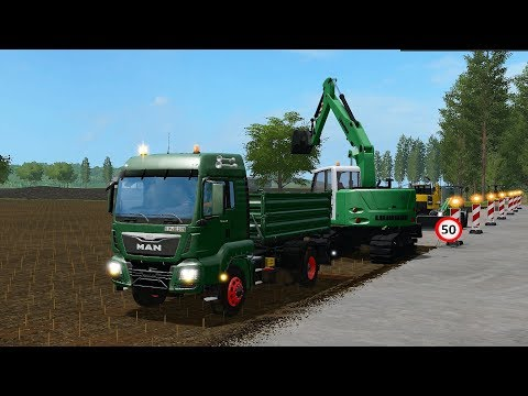 Farming Simulator 17 - Forestry and Farming on The Valley The Old Farm 099 thumbnail