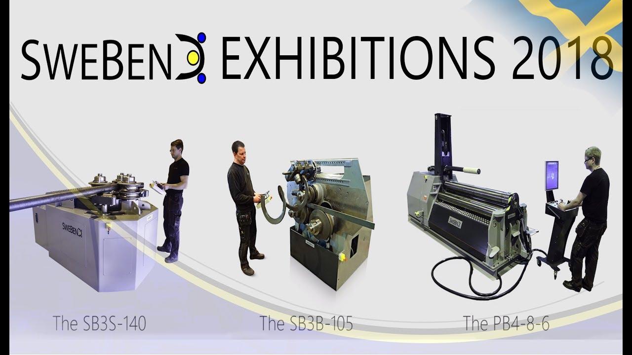Download Bending machine exhibitions (2018) & world premiere of new machine!