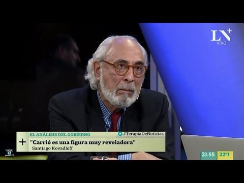 """S.Kovadloff en """"Terapia de noticias"""", de D.Sehinkman - 13/02/17"""