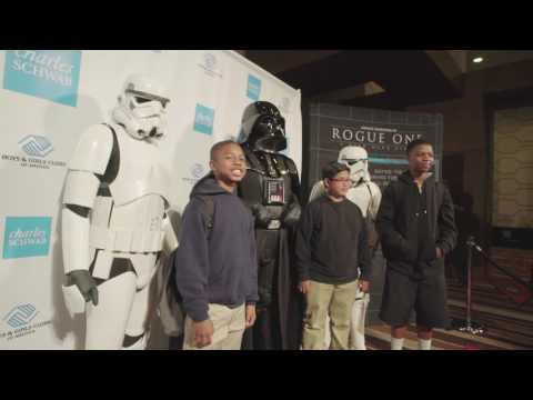 A Rogue One Surprise for Boys & Girls Clubs of America