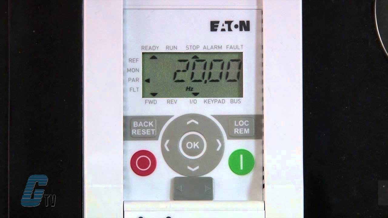 Eaton Cutler Hammer M Max Ac Drive Multi Speed Operation With A Plc Variable Frequency Circuit Diagram Drives