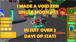 saber simulator I Made a VOID ZRR Single Moon Pet