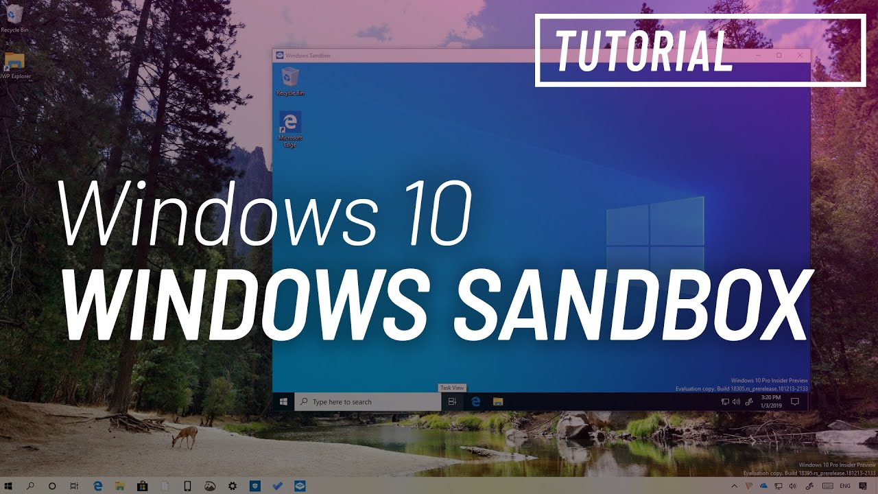 How to enable 'Windows Sandbox' on Windows 10 • Pureinfotech