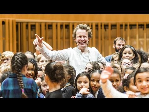Orchestre Démos : les enfants à la découverte de la musique