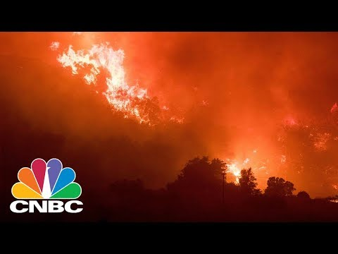 Californias Thomas Wildfire Swells To 230,000 Acres, Now Larger Than NYC  CNBC