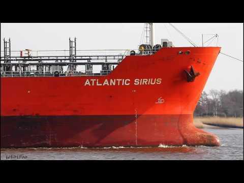 ATLANTIC SIRIUS | Weser Höhe Brake Unterweser