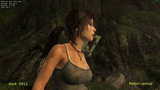 Benchmark Tomb Raider (2013)  Nativo vs DXVK // Wine 3.7 Staging