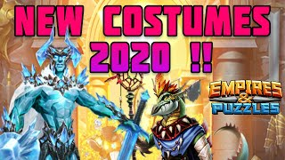 New Costumes 2020! - Empires and Puzzles. a comprehensive preview of the second wave of costumes.