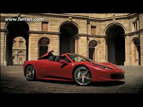 Ferrari 458 Spider Commercial Youtube