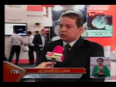 IV edición feria internacional segurí Expo Ecuador