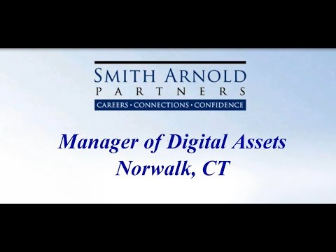 Manager of Digital Assets | New Job Opportunity | Smith Arnold Partners