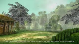 Zelda Twilight Princess (Fishing Pond) - 4K 60FPS Looping Background by Henriko Magnifico