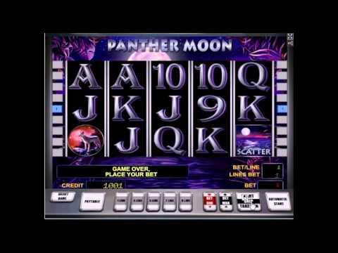 Видео обзор игрового автомата Panter Moon от Casinorussia