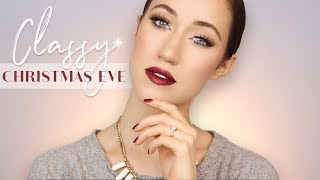 CLASSY CHRISTMAS EVE MAKEUP TUTORIAL | ALLIE GLINES