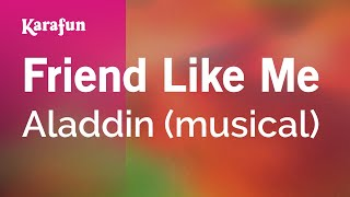 Karaoke Friend Like Me - Aladdin *