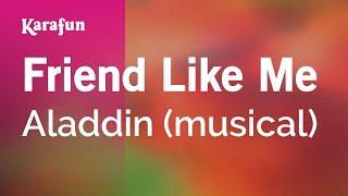 Karaoke Friend Like Me - Aladdin *