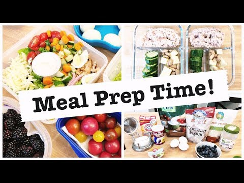 🔥 MEAL PREP WITH ME! 🥗 HEALTHY + KETO FRIENDLY MEAL PREP 🥩 LOW CARB 😁 JEN CHAPIN