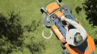Husqvarna Rider 300-series - articulated steering