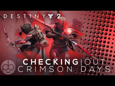Destiny 2 Forsaken: Checking out Crimson Days thumbnail