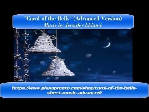 Carol of the Bells ~ Advanced piano Arrangement ~ Sheet Music
