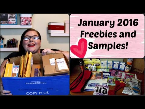 Janurary 2016 Freebies and Samples!