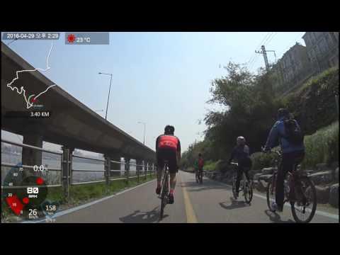 [Republic of korea bicycle riding] Namsan Mountain  - Chuncheon [UHD]