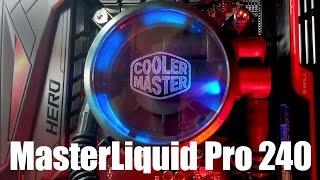 enfriamiento liquido cooler master masterliquid pro 240 unboxing revisin e instalacin