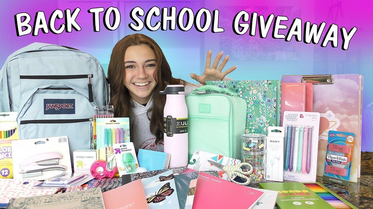 BACK TO SCHOOL HAUL GIVEAWAY!!! | Kayla Davis