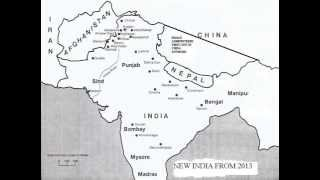 NEW MAP OF INDIA FROM 2013