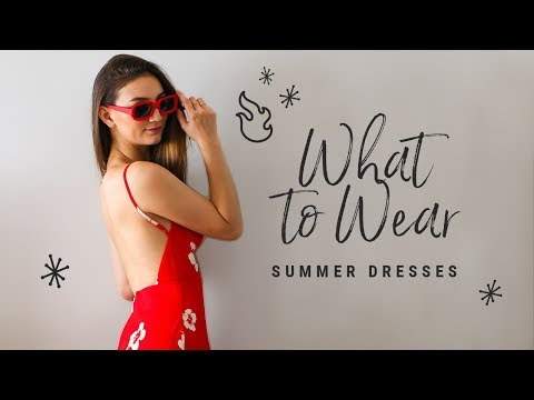 what-to-wear-with-summer-dresses!-talk-through-lookbook!