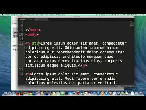HTML Tutorial   How To Align Something In HTML