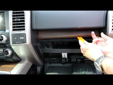 How To Change a Cabin Air Filter on a 2015-2017 F-150