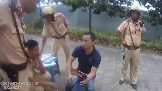 Màn đối đáp giữa anh cảnh sát giao thông và thánh lái xe