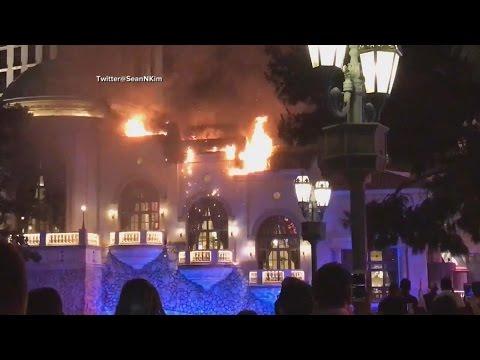 Bellagio Hotel fire temporarily closes Las Vegas strip