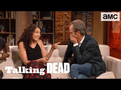 'Steven Ogg on Simon' Highlights Ep. 805  Talking Dead