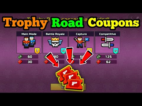 FREE Coupons For Tags | Trophy Road Coupons – Pixel Gun 3D