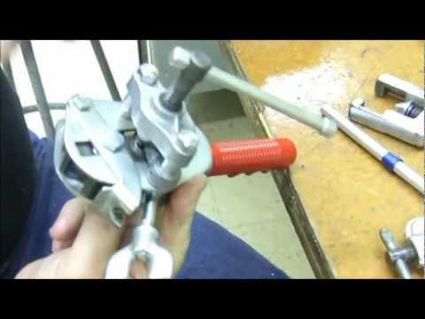 Aviation Tools Training - Single Flare Tubing