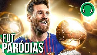 ♫ MESSI ERGUE A 6ª BOLA DE OURO | Paródia Radioactive - Imagine Dragons