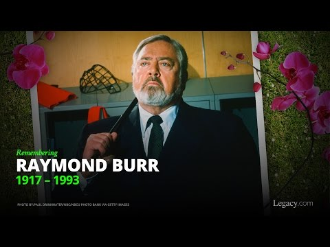 Remembering Raymond Burr