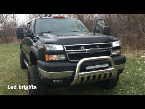 Duramax Led Head Light Upgrade Review Youtube