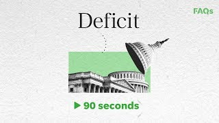 U.S. Economy 101: national debt vs. national deficit | Just The FAQs