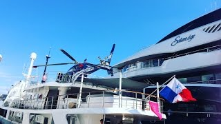 At the Monaco Yacht Show  | On Board of a Riza Tansu Superyacht