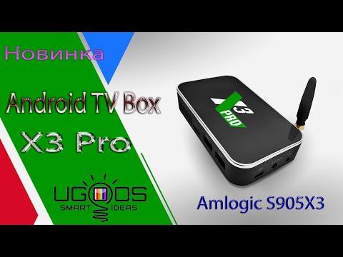 Новинка от Ugoos TV Box X3 PRO на новом процессоре S905X3 Супер приставка за эти деньги Обзор