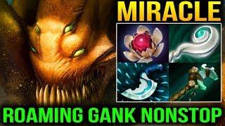 Miracle- SandKing Effective Roaming Gank Dota 2