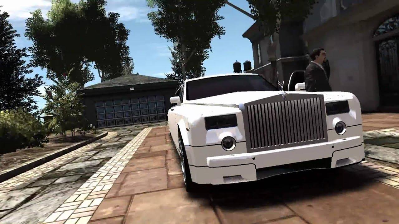 Phantom Car Wallpaper Gta Iv Rolls Royce Phantom Limo 1080p Hd Youtube
