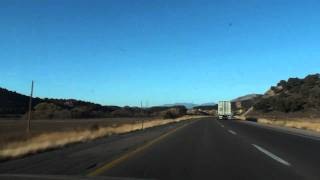 On My Way to Las Vegas, NV Driving on AZ I-40 W, Part 4.mpg